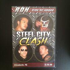 ROH Steel City Clash Ring of Honor PWG NJPW Daniel Bryan vs Quackenbush WWE OOP