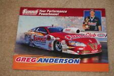 2009 Greg Anderson Summit Pontiac GXP Pro Stock NHRA postcard