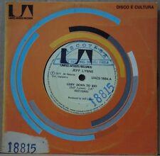 "JEFF LYNNE 1977 Goin´ Down To Rio RARE PROMO EDITION! ELO 7"" Single 45 BRAZIL"