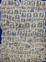 LOT OF 150+ U.S. STAMPS #'s 868, 883, JAMES W RILEY, ETHELBERT NEVIN