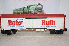O Scale Trains Lionel Baby Ruth Billboard Reefer 9854