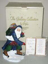 "Pipka Limited Edition Figurine ""Starlight Santa"" w/Original Box & Coa"