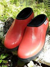 Ranger LADYBUG Garden CLOGS Womens SIZE 7 SHOE Red SLIP ON Waterproof Rubber