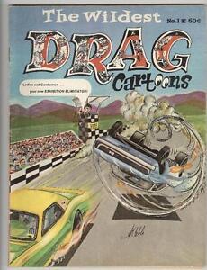 The Wildest Drag Cartoons #1 VG+ 1970 Wonder Wart-Hog – Scarce Mag!