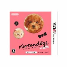 Used 3DS nintendogs + cats Toy Poodle & New Friends Japan Ver.