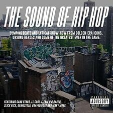 THE SOUND OF HIP HOP (Various) CD (2017)