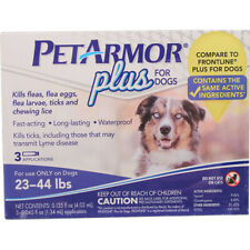 PETARMOR - Plus for Dogs Flea and Tick Squeeze-On 23-44 Lbs. - 3 Applications