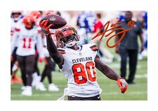 Jarvis Landry NFL Cleveland Browns A4 signed poster. Choice of frame.