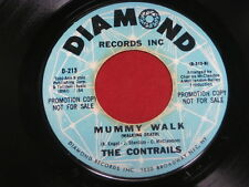 CONTRAILS~ MUMMY WALK~ MEGA RARE PROMO~ BROWN WAX~ SOMEONE~ ~ NORTHERN SOUL 45