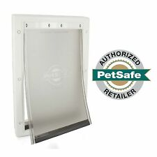 PetSafe Premium Plastic Pet Door White, Medium PPA00-10959