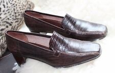 Mod/GoGo Leather 1980s Vintage Shoes for Women