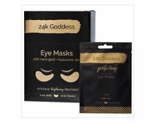 24K GODDESS Perfecting Active Gold Eye Masks - 10 Pairs - Single Use
