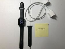 Apple Watch Series 2 42mm black sport band used