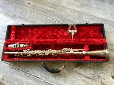 Vintage Jean Lambert Metal Clarinet with Case - Made In USA
