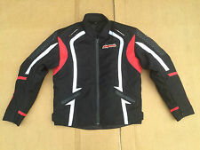 "RK Sport Mens Textile Motorbike / Motorcycle Jacket Size UK 40"" Chest (box 27)"