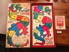 VINTAGE 1969 Denys Fisher GAME SNAP la calamita DRAGON BACCHETTA MAGICA Corp FAB RARA