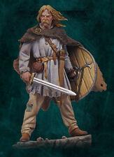 Andrea Miniatures Viking espadachín 54mm 1/32nd Modelo Sin Pintar Kit