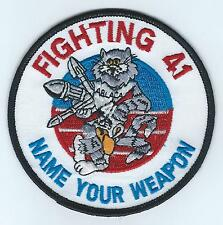 VF-41 NAME YOUR WEAPON patch