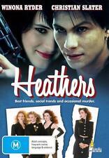 NEW DVD Heathers (UK seller, no waiting!) Christian Slater, Winona Ryder DVD: 0/