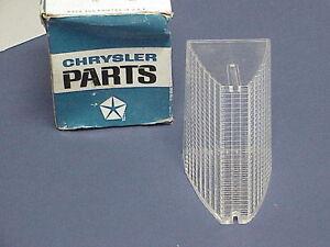 NOS 1968 Dodge Monaco Reverse Lamp Lens, Mopar