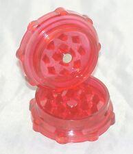 Dente di squalo Acrilico Herb GRINDER [Rosso] 52mm di diametro