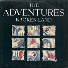 "45 TOURS / 7"" SINGLE--THE ADVENTURES--BROKEN LAND / DON'T STAND ON ME--1988"