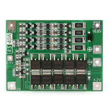4S 40A 14.8V 16.8V Li-ion Lithium 18650 Battery BMS PCB Protection Board Balance
