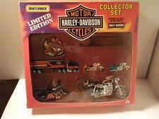 1991 Matchbox Limited Editon Harley Davidson Collector Set COMPLETE!