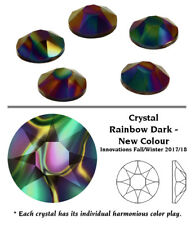 Genuine Swarovski 2078 XIRIUS Rose Crystal Hotfix Flatback Rhinestones *Improved