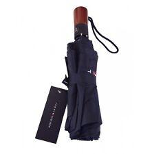 Tommy HILFIGER SMALL OMBRELLO piccolo flag LEGGERO BLU NAVY UNISEX RRP £ il 32