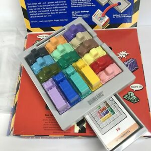 RUSH HOUR Traffic Jam Puzzle Game  Binary Arts 1996 Complete sliding cars w box