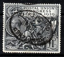 SG438 £1 PUC With Neat Registered Oval Cancel(456)