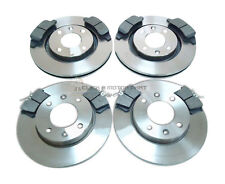 PEUGEOT 307 1.4 1.6 HDi FRONT & REAR BRAKE DISCS & PADS CHECK SIZE OF FRONT DISC