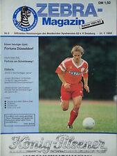 Programm 1992/93 MSV Duisburg - Fortuna Düsseldorf