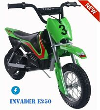 Electric Motorcycle Dirt Bike Tao Invader 250 Free Shipping