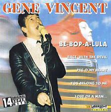 GENE VINCENT Be-Bop-A-Lula CD 14 Tracks nuevo y emb. orig. aserlight 1996