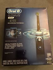 Oral-B Genius 8000 Electronic Toothbrush, Black Edition, Powered by Braun New