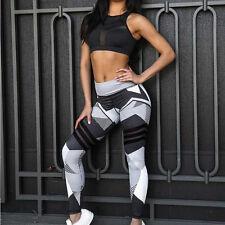 Women Leggings Fitness Sports Gym Exercise Running Jogging Yoga Pants Trouser US