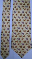 -AUTHENTIQUE cravate cravatte  LEONARD   100% soie  TBEG  vintage