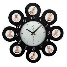 Horloge Photos MURAL Décoration Cuisine Chambre HMP02