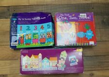 3x Educational jigsaw/puzzle games age 2-5years - Counting/Alphabet