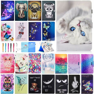 """For Samsung Galaxy Tab A 7"""" 8"""" 10.1"""" 10.5"""" T590 T580 Tablet Leather Cover Case"""