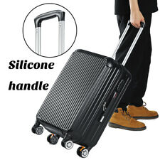 20inch 4 Wheel Suitcase Travel Cabin Bag Carry On Hard Case Hand Luggage Black