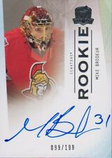 09-10 The Cup ROOKIE AUTO xx/199 Made! Mike BRODEUR #107 - Senators