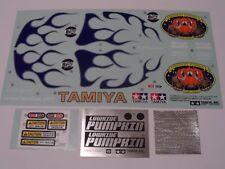 New Tamiya Midnight Pumpkin Metallic (Includes Special Lowride) Decals 94000378