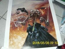 Star Wars Dave Dorman autographed poster# 1405 The Dark EmpireII RARE