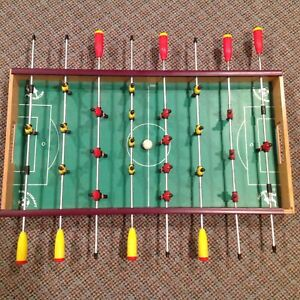 """Vintage Sportcraft Foosball Game, Made in Italy ARCO FALC - 28"""" x 15"""""""