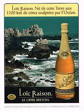 PUBLICITE ADVERTISING 104  1996  LOIC BRETON     le cidre