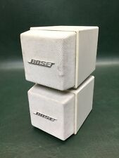 Bose Acoustimass Cube System AM-5 Speakers White