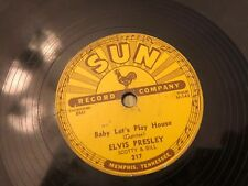 Elvis Presley Baby Let's Play House I'm Right You're Left She's Gone Sun 78 orig